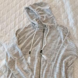 EUC. Grey hooded sweatshirt.